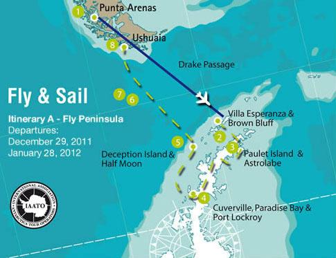 Antarctic Dream Itinerary
