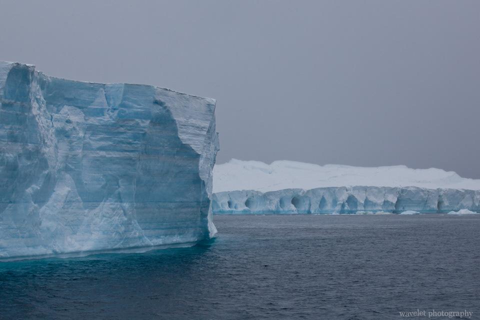 Icebergs, the Antarctic Sound