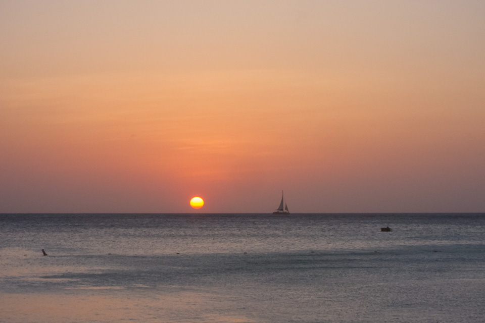 Sunset at Aruba