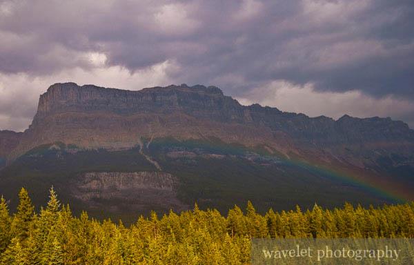 Rainbow, Banff