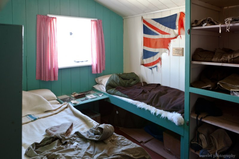 The British base at Port Lockroy, Antarctica