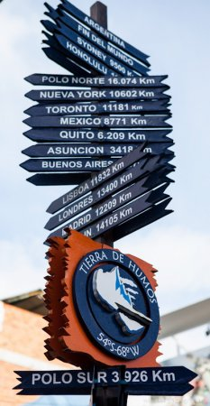 Ushuaia Signpost