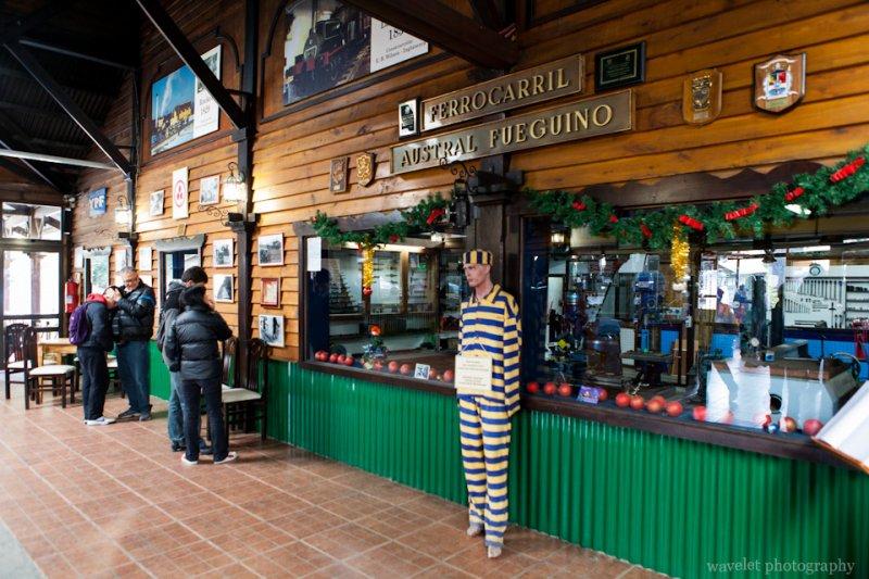 Southern Fuegian Railway Station, Tierra del Fuego N. P.