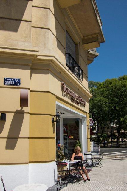 A Café at Plaza San Martín