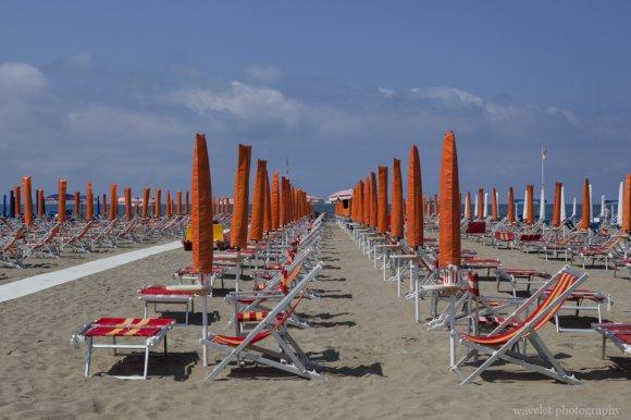 Viareggio beach