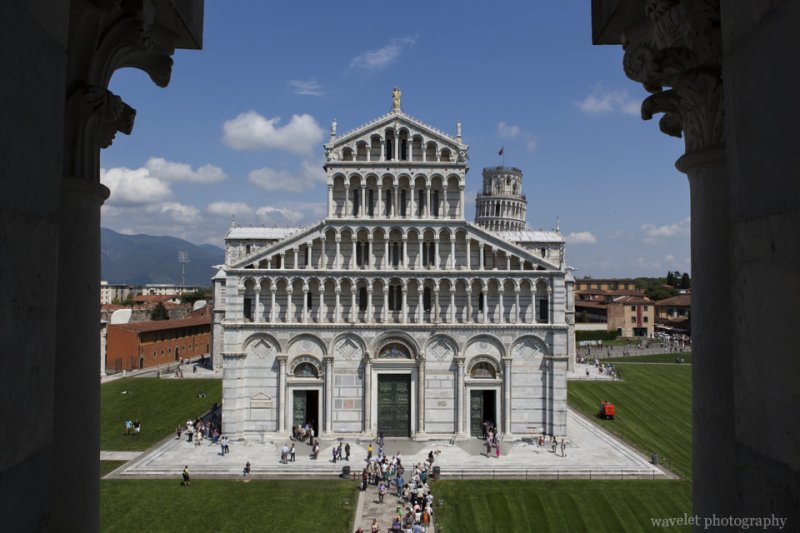 Duomo, Viewed from Baptistry of St. John, Pisa