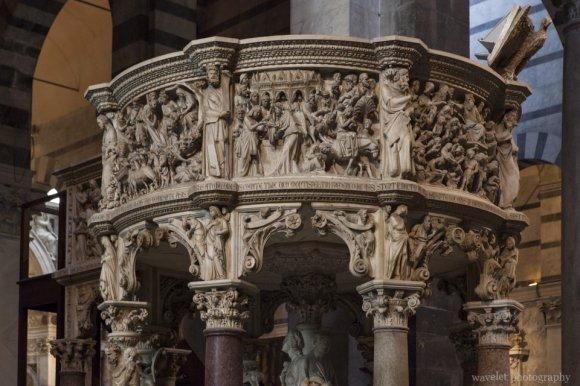 Pulpit, Duomo of Pisa