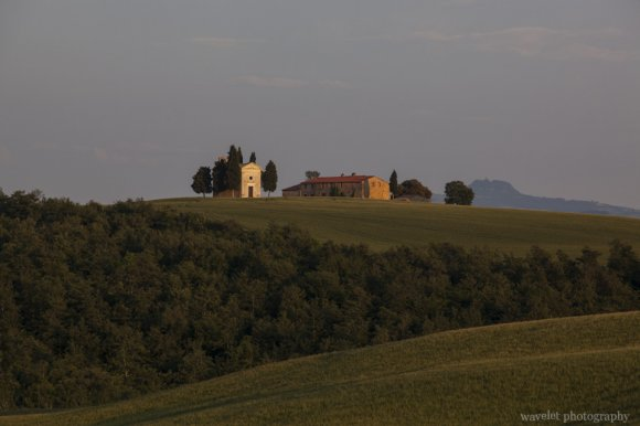 On SP146, Southern Tuscany