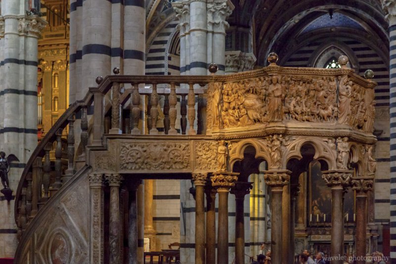 Pulpit of the Duomo, Siena