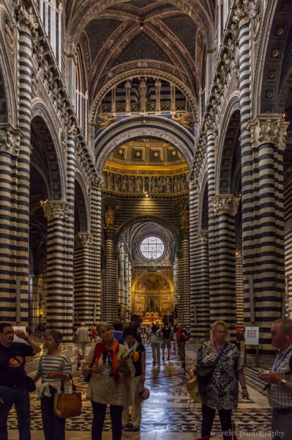 Interior of the Duomo, Siena