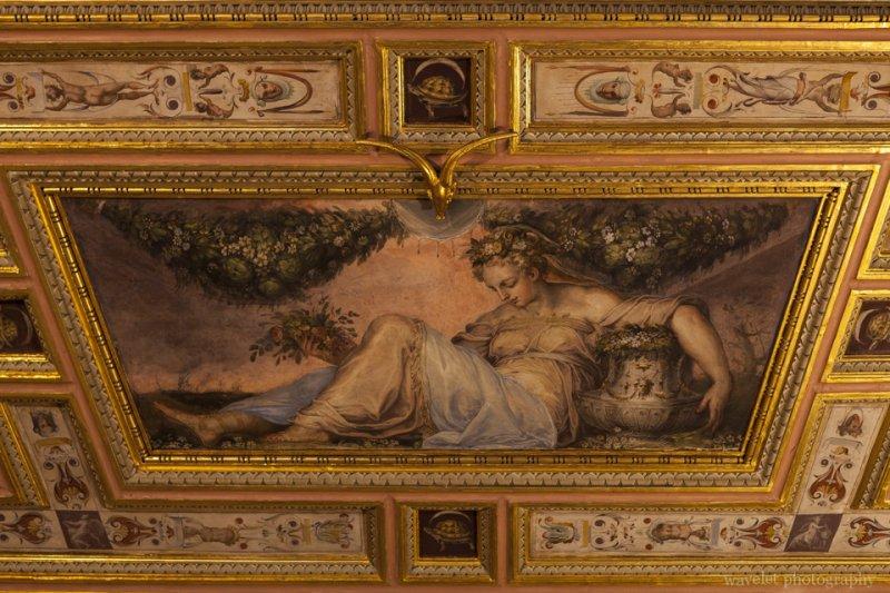Primavera by Giorgio Vasari and aids, Hall of Opi (Sala di Opi), Palazzo Vecchio, Florence