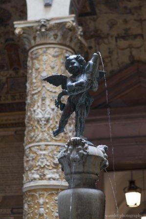 Putto with Dolphin by Andrea del Verrocchio, Palazzo Vecchio, Florence