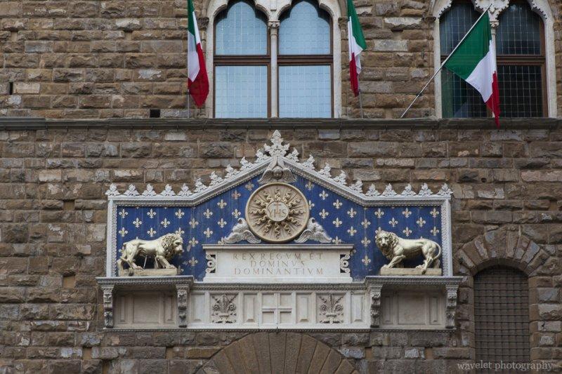 Entrance of Palazzo Vecchio, Florence