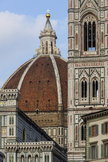 Cathedral and Giotto's Campanile, Florence
