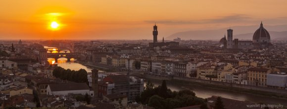 Florence panorama from Piazzale Michelangelo, Florence