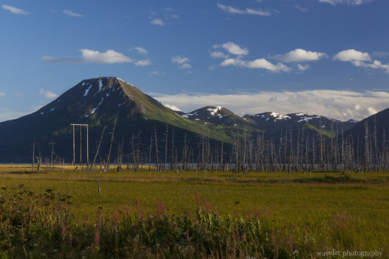 By the Seward Highway near Girdwood, Alaska