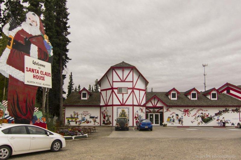 Santa Claus' House, North Pole, Alaska