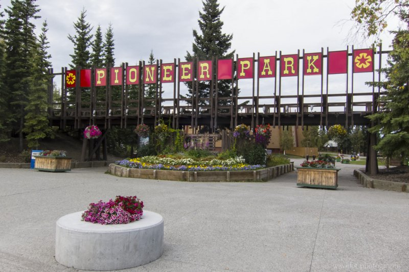 Pioneer Park, Fairbanks, Alaska