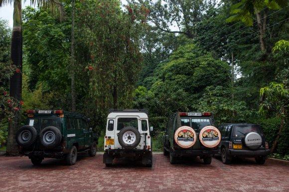 Jeeps for safari tour, Ilboru Safari Lodge, Arusha, Tanzania