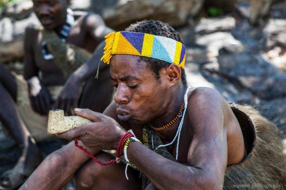 Hadzabe Bushmen Tribe, near Lake Eyasi