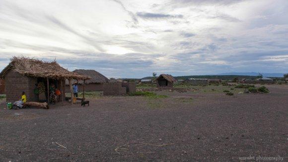 A village near Lake Eyasi
