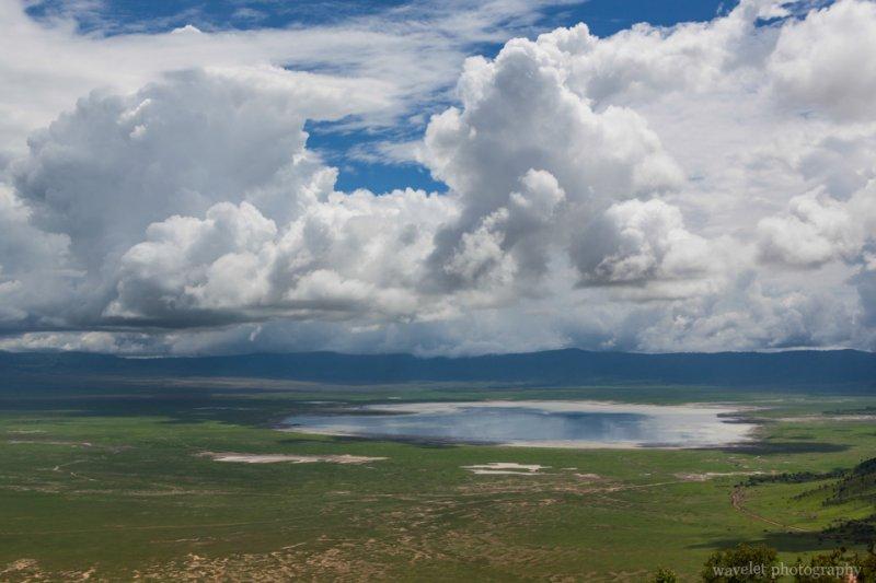 Overlook the Ngorongoro crater and Lake Magadi.