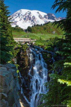 Myrtle Falls, Skyline Trail, Paradise, Mt. Rainier