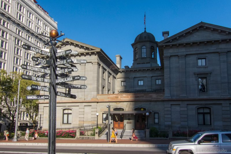 Pioneer Courthouse, Portland, OR