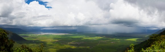 Ngorongoro Crater's own weather