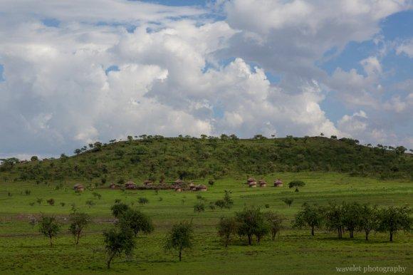 Maasai's village, near Arusha