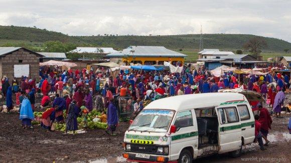Maasai's market, near Arusha