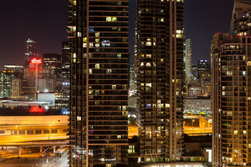 Toronto Downtown, from the Westin Harbour Castle, Toronto