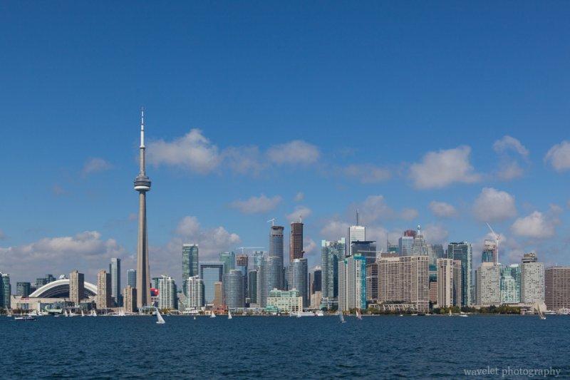 Toronto skyline, from Centre Island Ferry