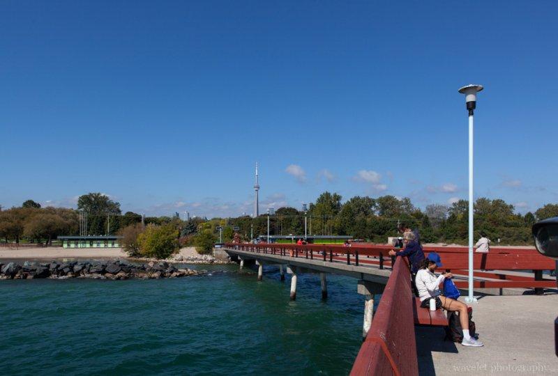 Lake Ontario lakeshore, Toronto Island Park