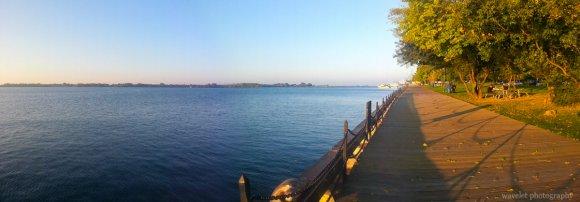 The boardwalk by Lake Ontario, Toronto