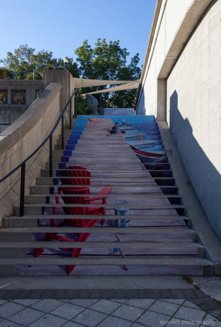 Steps by the Plaza Bridge, Ottawa