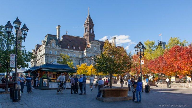 Montreal City Hall, Old Montreal