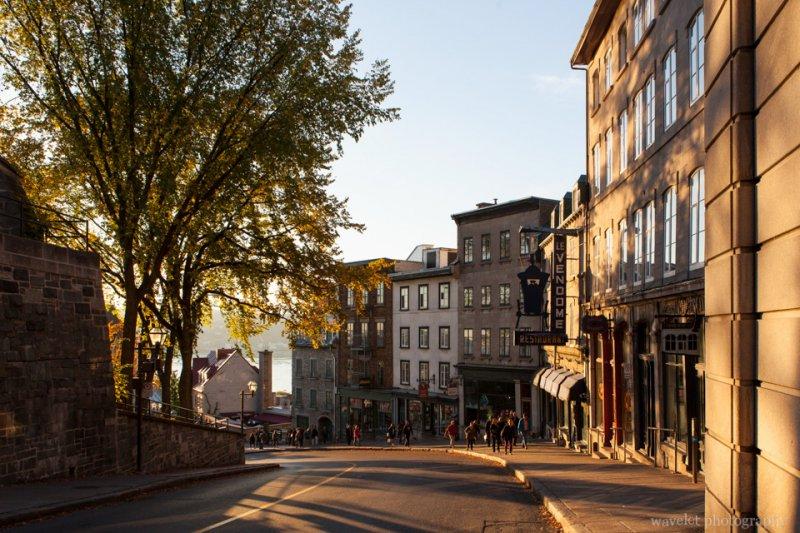 Côte de la Montagne street, Quebec City