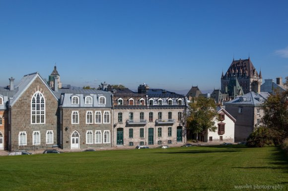 Near the Ramparts of Quebec City