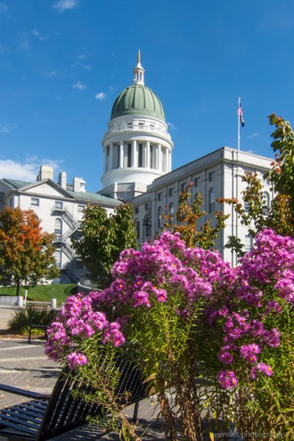Maine State House, Augusta, Maine