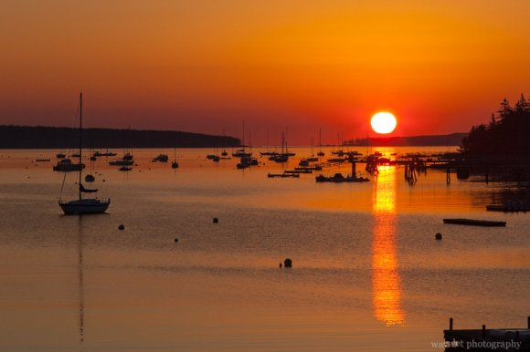 Sunrise, Southwest Harbor, Acadia National Park, Maine