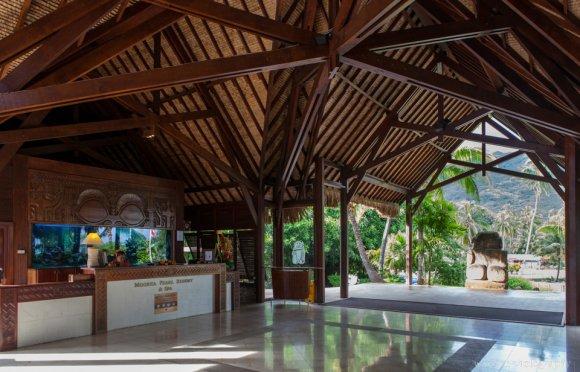 The lobby, Moorea Pearl Resort