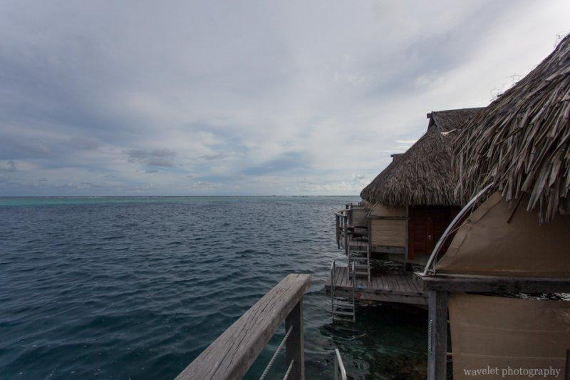 Overwater bungalow, Moorea Pearl Resort