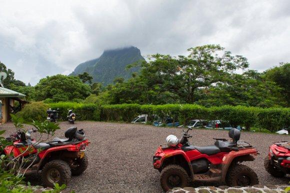 Agricultural College at Opunohu, Moorea ATV Tour