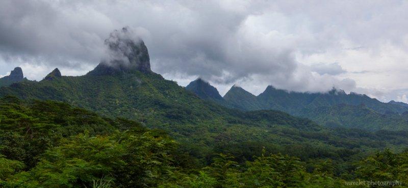 Mt. Mouaroa, Moorea