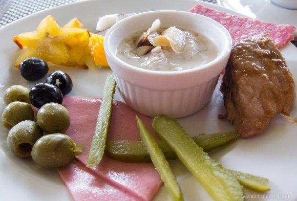 Breakfast at Le Méridien Bora Bora