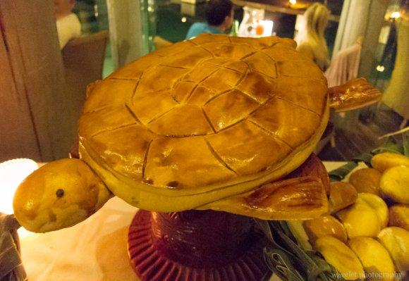 Dinner buffet at Le Méridien Bora Bora