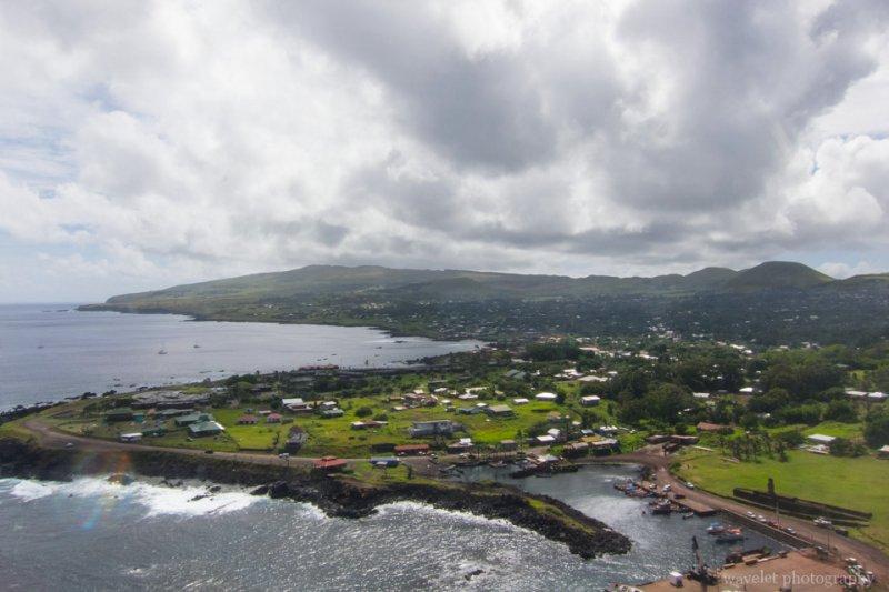 Arriving Easter Island