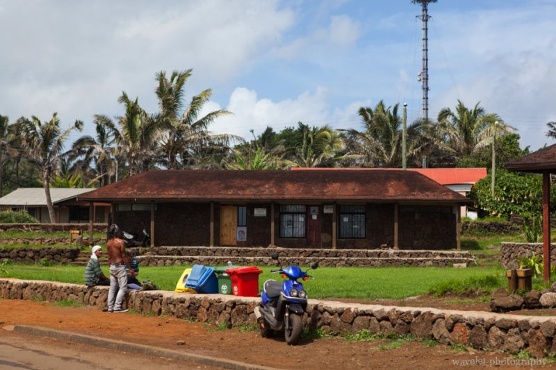 A rural house near restaurant Haka Honu, Easter Island