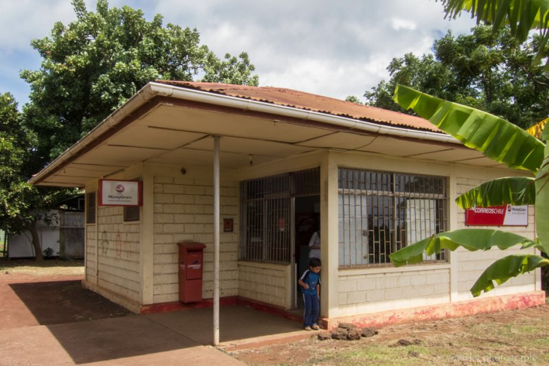 The Post Office of Hanga Roa, Easter Island